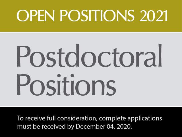 Open postdoctoral positions 2021 Matemáticas - Uniandes